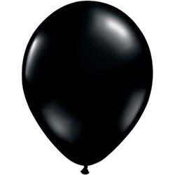 Qualatex Balloons Onyx Black 28cm