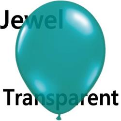 Qualatex Balloons Jewel Teal 28cm