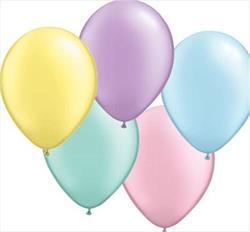 Qualatex Balloons Pastel Pearl Asst 28cm