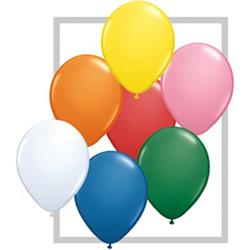 Qualatex Balloons Standard Asst  28cm