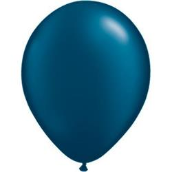 Qualatex Balloons Pearl Midnight Blue 28cm