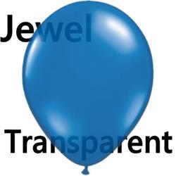 Qualatex Balloons Jewel Sapphire Blue 40cm