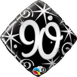 Qualatex 90 Elegant sparkles and swirls  45cm