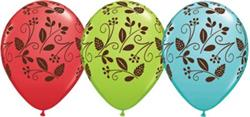 Qualatex Balloons Woodland Foilage Around 28cm