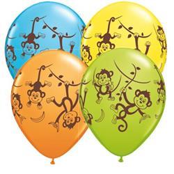 Qualatex Balloons Mischevious Monkey 28cm