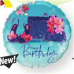 Qualatex Balloons Birthday Shoes and Handbag NEW