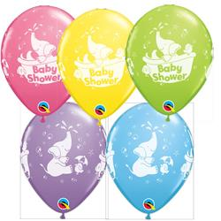 Qualatex Balloons Baby Shower Elephant Special Asst 28cm