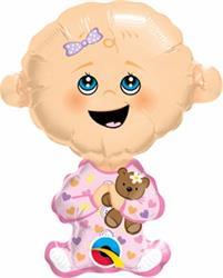 "Baby Girl Mini Shape 14"""
