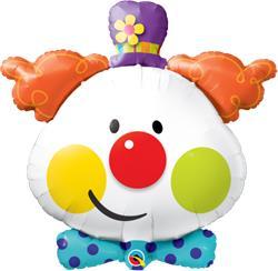 Cute Clown Foil 91cm