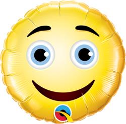 Qualatex Balloons Smiley Face 23cm