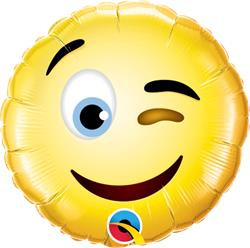 Qualatex Smiley Wink 23cm