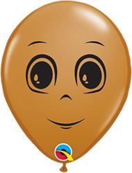 Mans Face Moccha Brown12cm