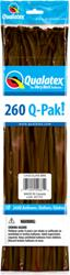 Q-Pack 260q Chocolate Brown