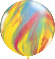 Qualatex Balloons Traditional Super Agate 76cm