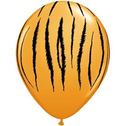 Qualatex Balloons Tiger Stripes 28cm