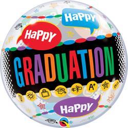 Bubble Graduation Congrats Graduate 55.5cm
