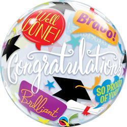 Bubble Graduation Accolades 55.5cm