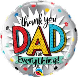 Thank You Dad For Everything 45cm