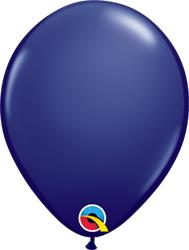 Qualatex Balloons Navy 28cm