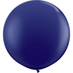 Qualatex Balloons Navy 90cm  (pack)
