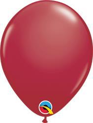 Qualatex Balloons Maroon 28cm