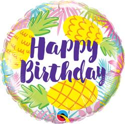 Birthday Pineapples 45cm