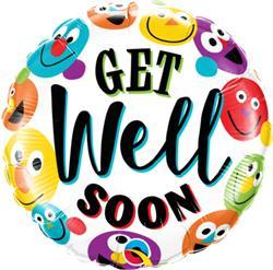Get Well Soon Smileys 45cm