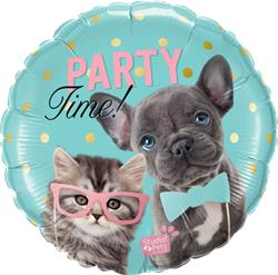 Qualatex Balloons Studio Pets - Party Time Pets 45cm
