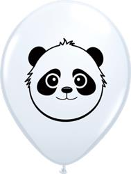 Qualatex Balloons White Panda Bear 12cm