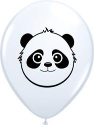 Qualatex Balloons White Panda Bear 12cm