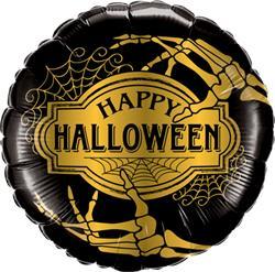 Halloween Golden Skeleton 45cm