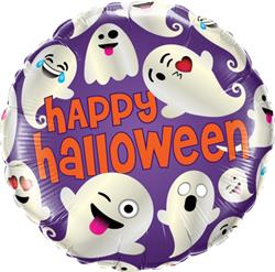 Halloween Emoticons Ghosts 45cm