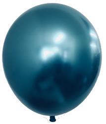 Qualatex Balloons Chrome Blue 28cm avaiable min feb
