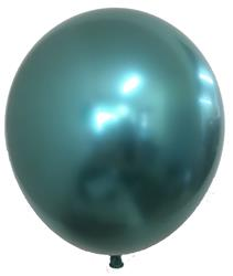 Qualatex Balloons Chrome Green 28cm 25 count