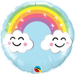Qualatex Balloons Sunshine Rainbow 23cm