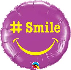 Qualatex Balloons   Smile 23cm
