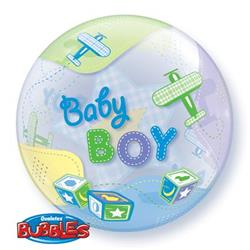 Baby Boy Airplanes Bubble 55cm