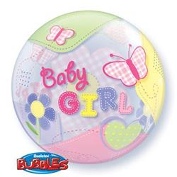 Baby Girl Butterflies Bubble 55cm