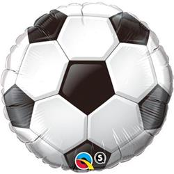 Qualatex Balloons Foil Soccer Ball 45cm