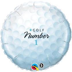 Qualatex Balloons No 1 Golf Ball 45cm