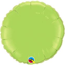 Circle Foil Lime 45cm Unpackaged