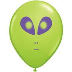 Space Alien Lime Green 12cm