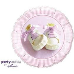 Qualatex Balloons Baby Girl shoes 45cm