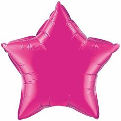 "Star Foil Magenta 36"" Unpackaged"
