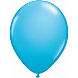 Qualatex Balloons Robins Egg Blue Plain 12cm