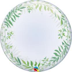 Qualatex Bubble Elegant Greenery 55.5cm