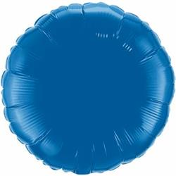 "Circle Dark Blue 18"""