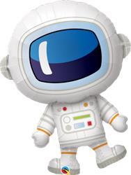 Adorable Astronaut Foil Helium shape 93cm