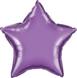 Qualatex Star Foil Chrome Purple 45cm Unpackaged