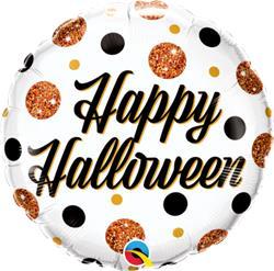 Halloween Sparkly Dots 45cm